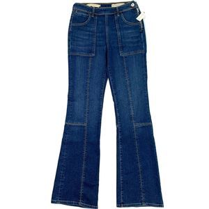 Pilcro High Rise Trouser Bootcut Jeans Anthro NEW